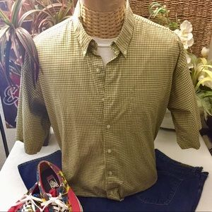 """""""Haggar Forever New"""" S/S button front shirt- XL"""